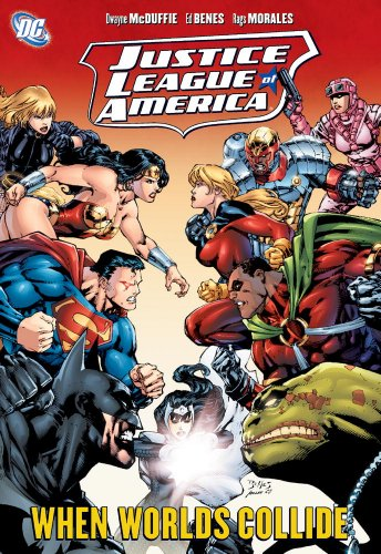 9781401224233: Justice League of America: Worlds Collide