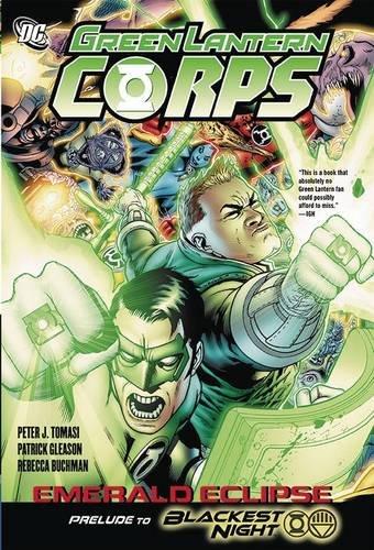 9781401225285: Green Lantern Corps Emerald Eclipse HC