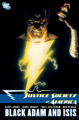 9781401225315: Justice Society of America: Black Adam and Isis