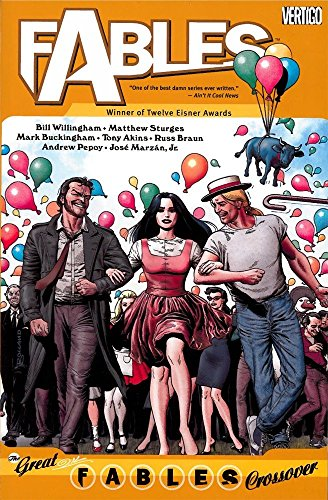 FABLES 13 THE GREAT FABLES CROSSOVER