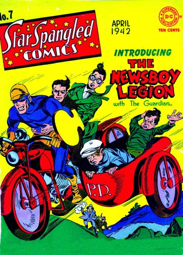The Newsboy Legion Vol. 1