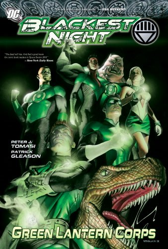 9781401227883: BLACKEST NIGHT GREEN LANTERN CORPS HC