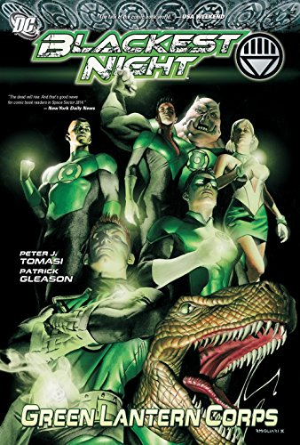 9781401228057: Blackest Night Green Lantern Corps TP