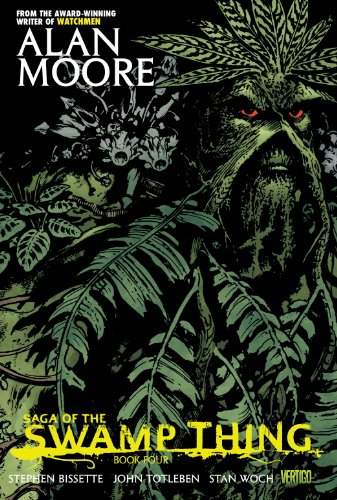 9781401230180: Saga of the Swamp Thing Book Four