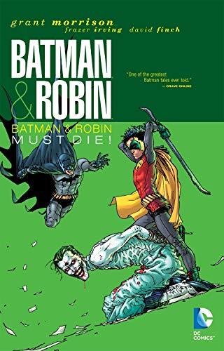 9781401230913: Batman and Robin vol. 3: Batman Must Die! (Deluxe edition)