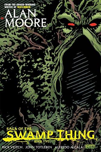 9781401230968: Saga of the Swamp Thing Book Five