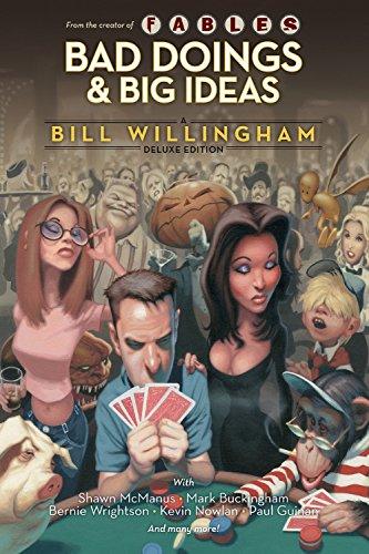 9781401232450: Bad Doings Big Ideas A Bill Willingham Dlx HC