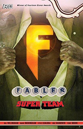 9781401233068: Fables Vol. 16: Super Team