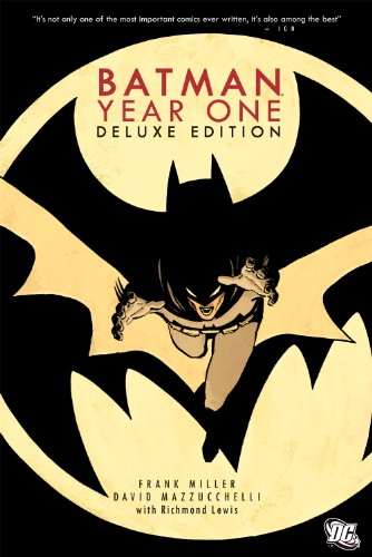 9781401233426: Batman Year One Deluxe Edition HC