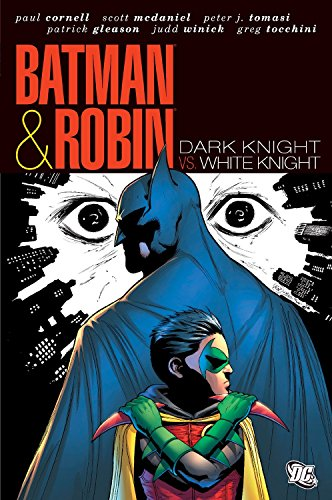 9781401233730: Batman And Robin White Knight Dark Knight HC (Batman & Robin (Hardcover))