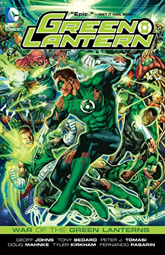 9781401234522: Green Lantern: War of the Green Lanterns (Green Lantern Graphic Novels (Paperback))
