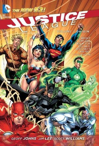 9781401234614: Justice League Vol. 1: Origin (The New 52)