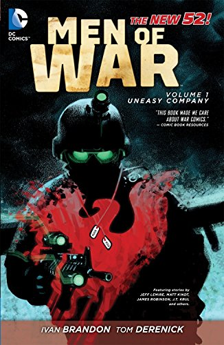 9781401234997: Men of War Vol. 1: Uneasy Company (The New 52)