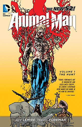 9781401235079: Animal Man Vol. 1: The Hunt (The New 52)