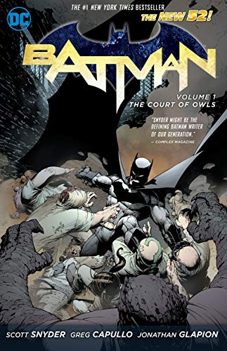 Batman Vol. 1: The Court of Owls (The New 52) (Batman (DC Comics Paperback))