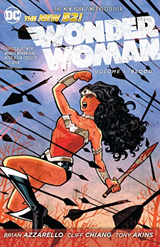 9781401235628: Wonder Woman Vol. 1: Blood (The New 52)