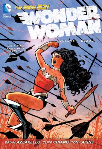 Wonder Woman Volume 1 Blood The New 52