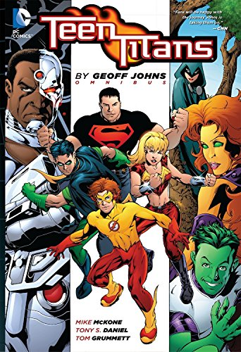 9781401236939: Teen Titans by Geoff Johns Omnibus