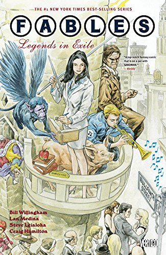 FABLES 01 LEGENDS IN EXILE