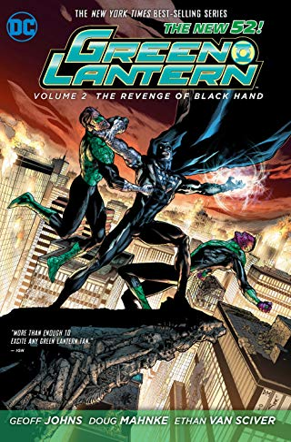 9781401237677: Green Lantern Vol. 2: The Revenge of Black Hand (The New 52)
