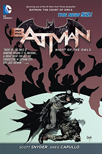 9781401237738: Batman: The Night of the Owls HC (The New 52)