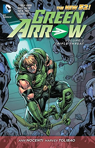 9781401238421: Green Arrow Vol. 2: Triple Threat (The New 52)