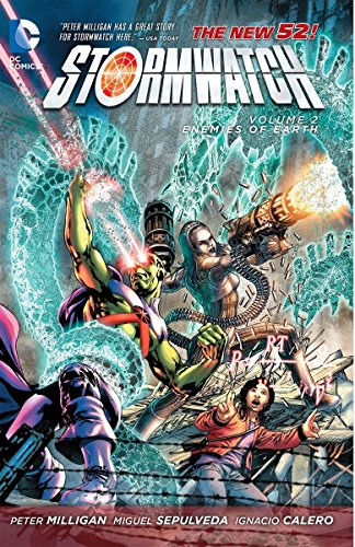 9781401238483: Stormwatch Volume 2: Enemies of Earth TP (The New 52) [Idioma Inglés]