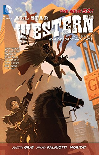 9781401238513: All Star Western Vol. 2: The War of Lords and Owls (The New 52)
