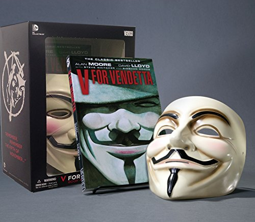 9781401238582: V for Vendetta Deluxe Collector Set, Book and Mask Set