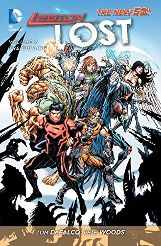 9781401240257: Legion Lost Vol. 2: The Culling (The New 52)