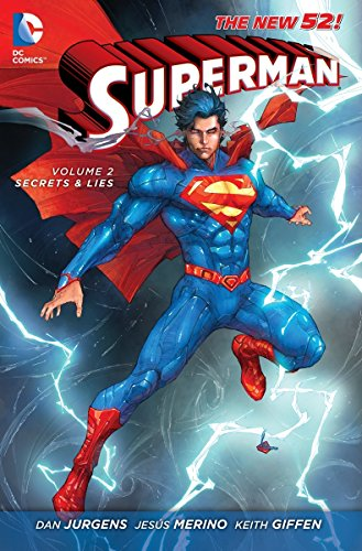 9781401240288: Superman Volume 2: Secrets & Lies HC (The New 52) (Superman New 52)