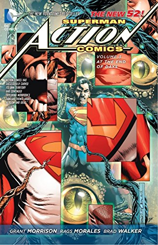 9781401242329: Superman Action Comics Volume 3: At The End of Days HC (The New 52)