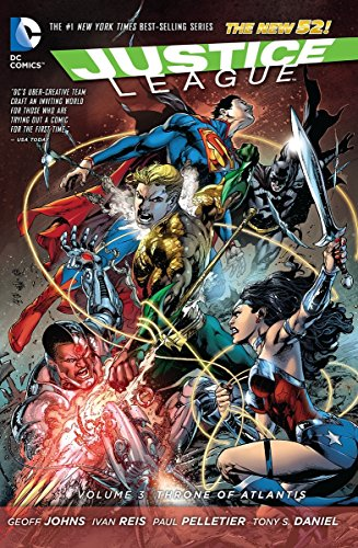 9781401242404: Justice League Vol. 3: Throne of Atlantis (The New 52)