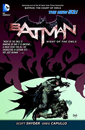 9781401242527: Batman: Night of the Owls (The New 52)