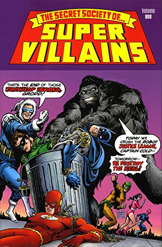 The Secret Society of Super-Villains Vol. 1