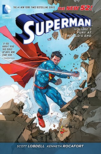 9781401243203: Superman Vol. 3: Fury at World's End (The New 52)