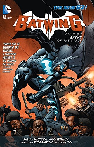 Batwing Volume 3: Enemy of the State (The New 52) (Paperback)