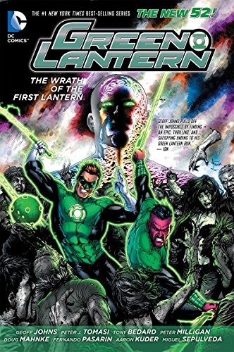 9781401244095: Green Lantern: The Wrath of the First Lantern (The New 52)