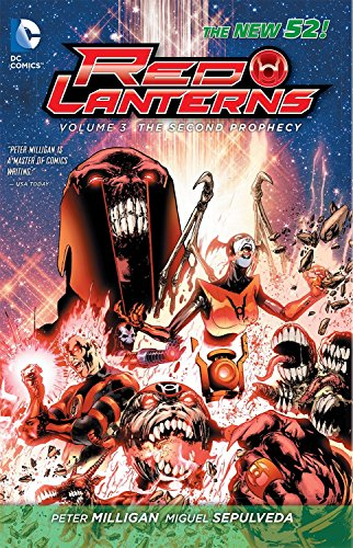 9781401244149: Red Lanterns Vol. 3: The Second Prophecy (The New 52)