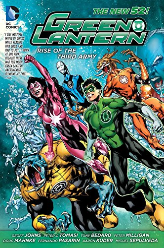 9781401244996: Green Lantern: Rise of the Third Army (The New 52)