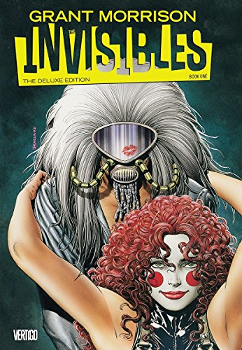 9781401245023: The Invisibles Book 1 Deluxe Edition HC