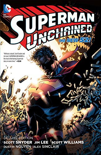 Superman Unchained HC (The New 52) 1st 1st NEW Signed Scott Snyder