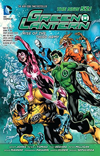 9781401246136: Green Lantern: Rise of the Third Army (The New 52)