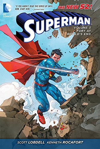 9781401246228: Superman Volume 3: Fury At World's End TP (The New 52)