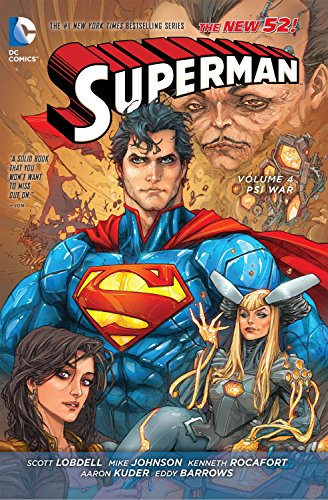 9781401246235: Superman Vol. 4: Psi-War (The New 52) (Superman (DC Comics Numbered))