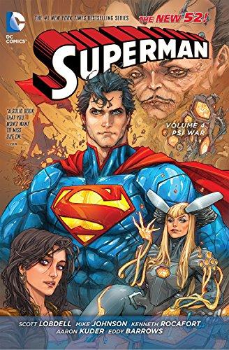 Superman Vol. 4: Psi-War (The New 52) (Superman (DC Comics Numbered))