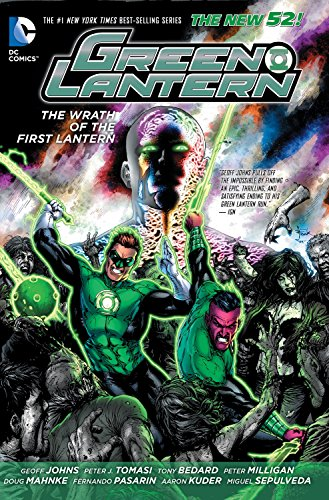 9781401246938: Green Lantern: The Wrath of the First Lantern (The New 52)