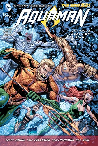 9781401246969: Aquaman Volume 4: Death of a King HC (The New 52)