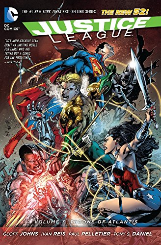 9781401246983: Justice League Vol. 3: Throne of Atlantis (The New 52)