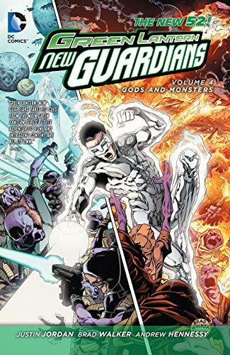 9781401247461: Green Lantern: New Guardians Vol. 4: Gods and Monsters (The New 52)